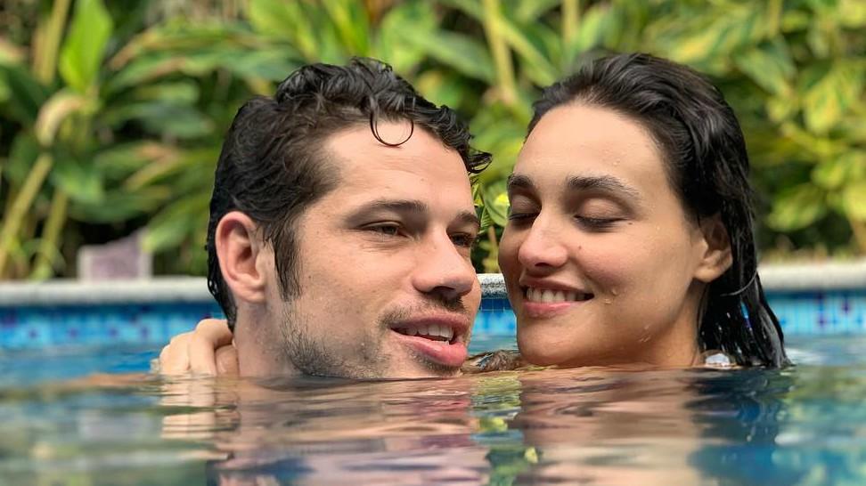 José Loreto e Débora Nascimento. Crédito: Reprodução