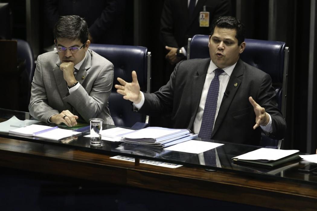 Davi Alcolumbre, presidente do Senado. Crédito: Fabio Rodrigues Pozzebom/Agência Brasil | Arquivo