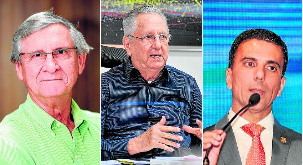 Orlando Caliman, José Lino Sepulcri e Léo de Castro. Crédito: Divulgação