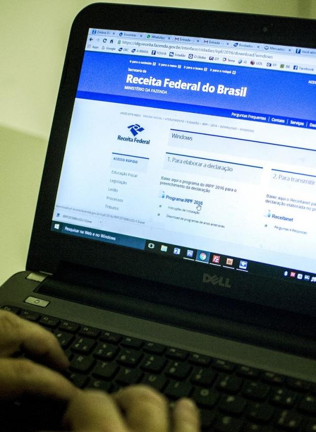 Alíquota máxima do Imposto de Renda pode cair para 25%, frente aos 27,5% cobrados atualmente. Crédito: Marcelo Camargo/Agência Brasil