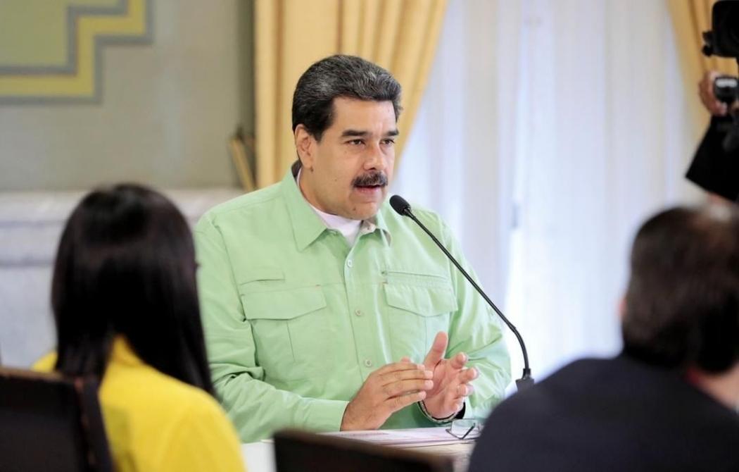 Nicolás Maduro. Crédito: Reprodução/Instagram