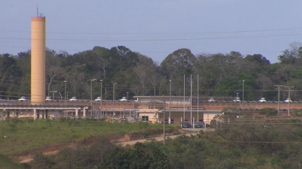 Penitenciária de Vila Velha. Crédito: G1