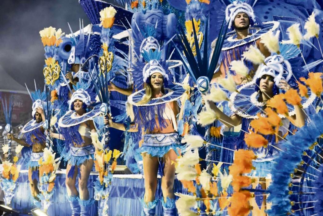 Carnaval de Vitória 2019: Chegou o Que Faltava apresentou belezas do Espírito Santo e foi 7ª escola a entrada no Sambão do Povo na sexta (22). Crédito: Fernando Madeira