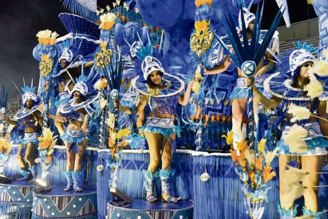 Carnaval de Vitória 2019: Chegou o Que Faltava foi penúltima escola a desfilar na sexta (22). Crédito: Fernando Madeira
