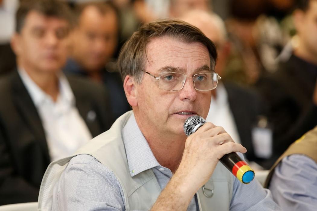 Presidente Jair Bolsonaro. Crédito: Isac Nóbrega/PR
