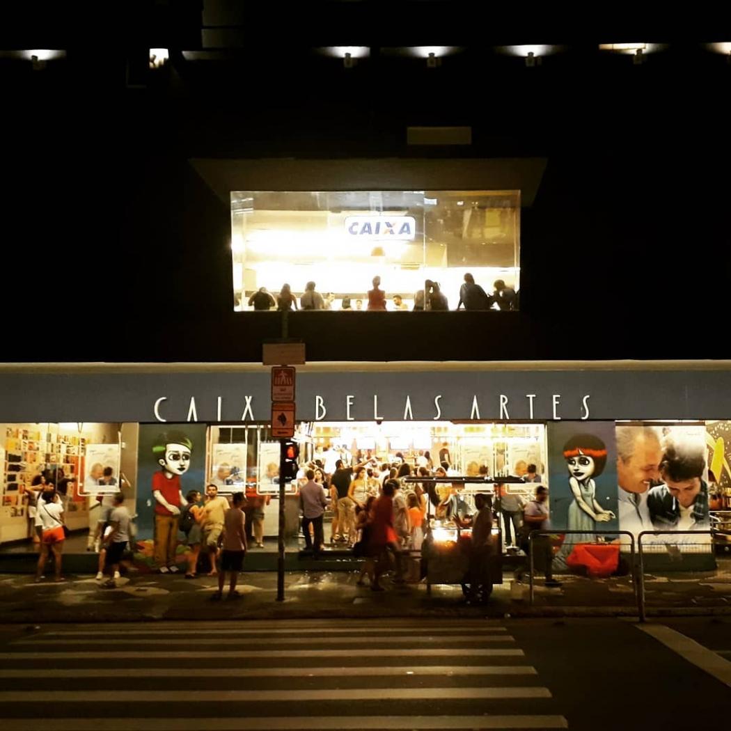 Cine Belas Artes funciona na Consolação, em São Paulo. Crédito: Instagram/@cinebelasartesoficial