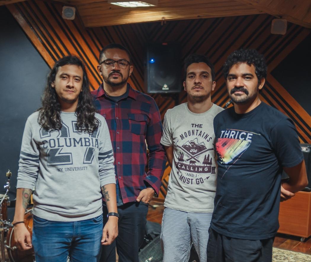 """Banda Envolto lança """"Distante"""", seu disco de estreia. Crédito: 4º Studio Audiovisual/Divulgação"""