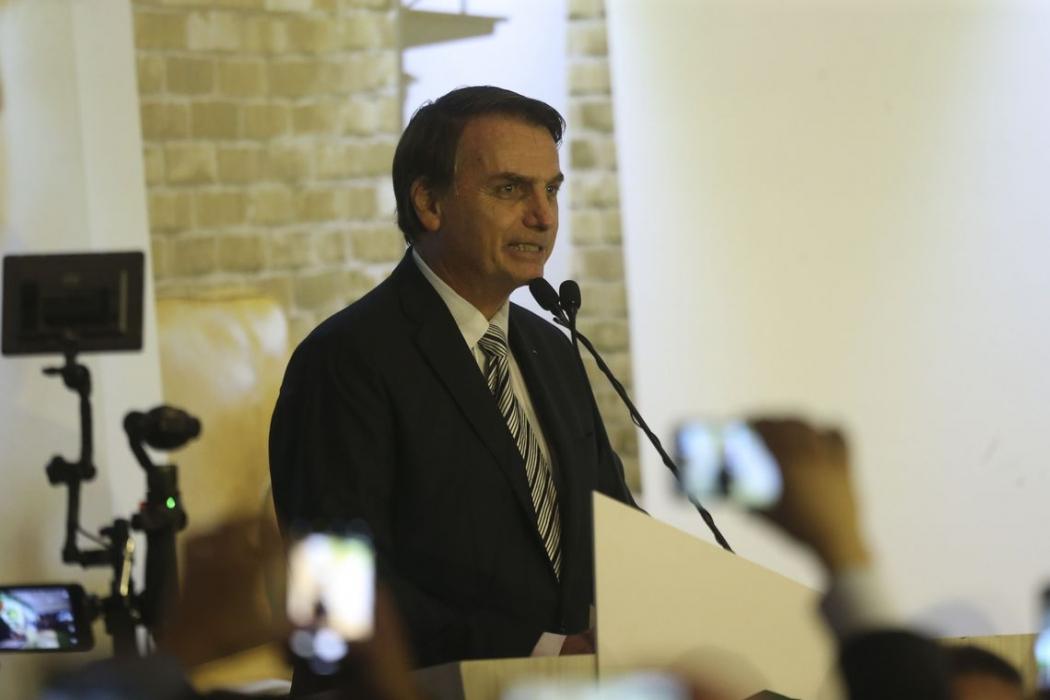 O presidente Jair Bolsonaro. Crédito: Valter Campanato/Agência Brasil