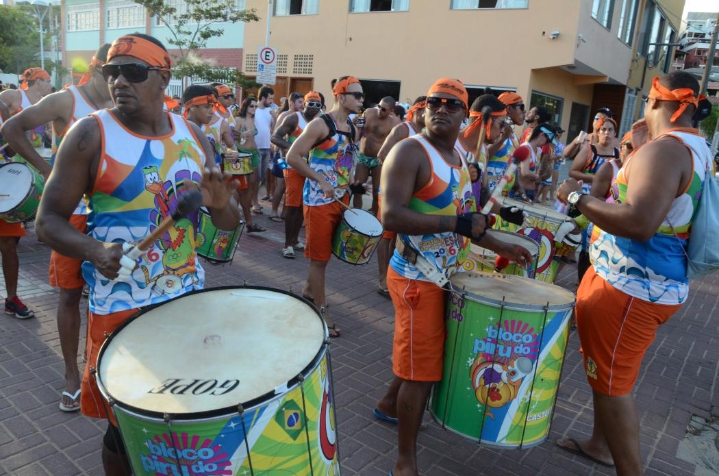 Tradicional em Iriri, Bloco do Piru, vai animar foliões em Anchieta. Crédito: Divulgação/Prefeitura de Anchieta