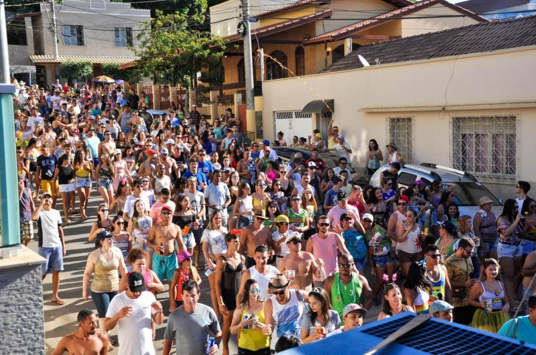Carnaval de Itarana. Crédito: Divulgação/Prefeitura de Itarana