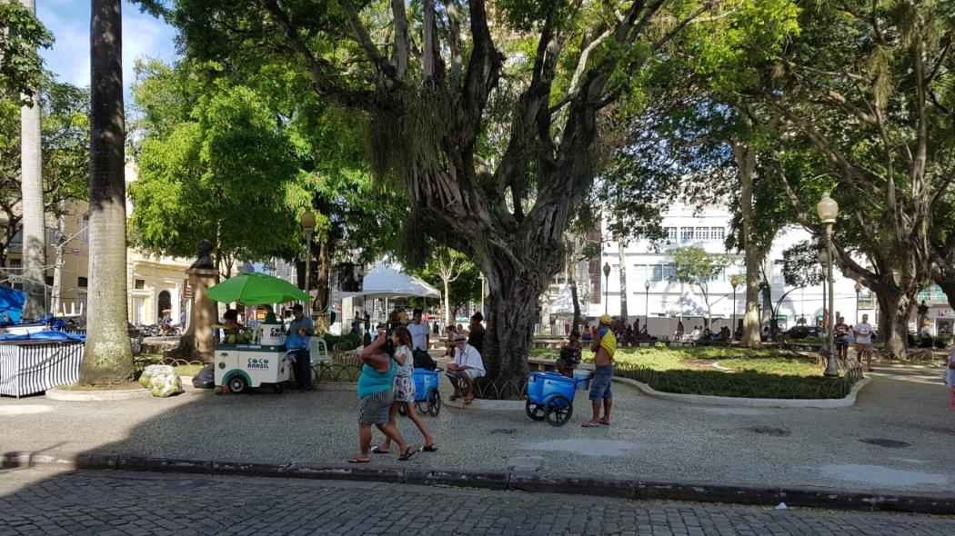 Praça Costa Pereira vai receber o evento. Crédito: Patricia Scalzer