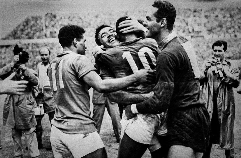 Copa do Mundo de 1958. Crédito: Divulgação