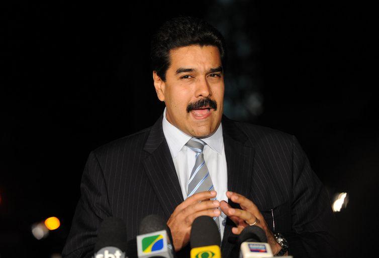 Nicolás Maduro, presidente da Venezuela. Crédito: Fabio Rodrigues Pozzebom/Arquivo Agência Brasil