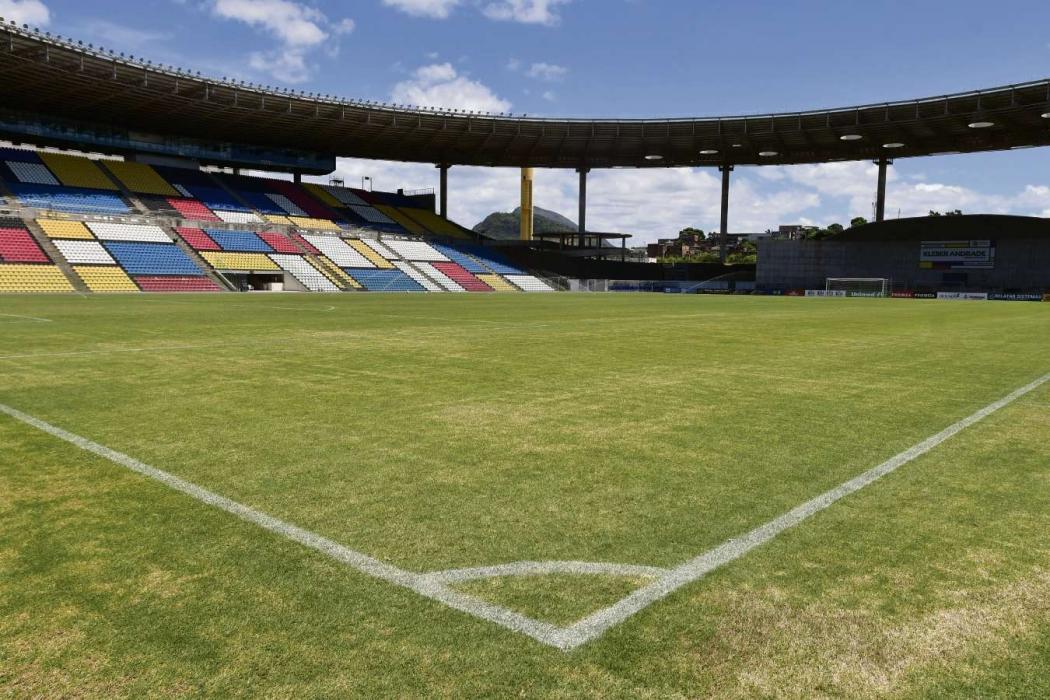 O gramado do Kleber Andrade é o melhor nesta edição do Campeonato Capixaba. Qualidade, porém, não é a mesma da época que recebeu a seleção de Camarões na Copa