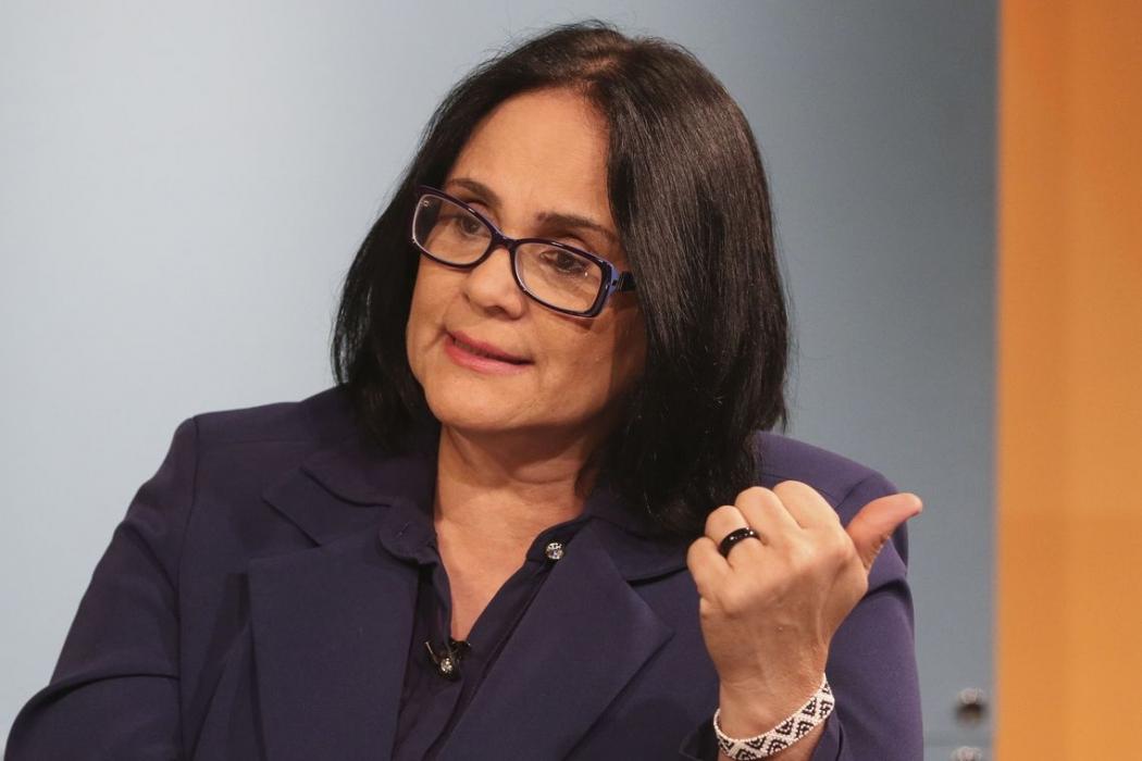 A ministra da Mulher, da Família e dos Direitos Humanos, Damares Alves. Crédito: Valter Campanato/Agência Brasil