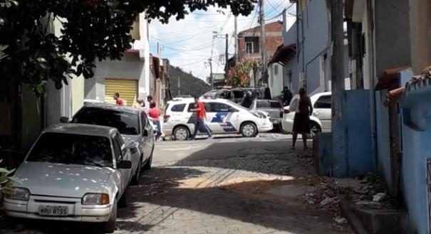 Caso aconteceu em Santana, em Cariacica . Crédito: Internauta Gazeta Online