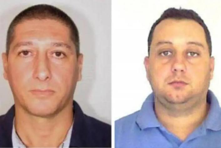 Ronnie Lessa, à esquerda, e Elcio Vieira de Queiroz foram presos nesta terça-feira (12)