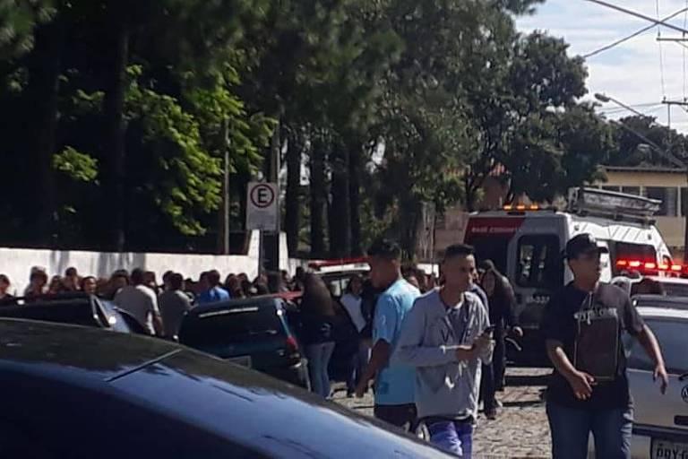 Tragedia Em Suzano Hoje Pinterest: Ataque Deixa Mortos E Feridos Em Escola Estadual De São