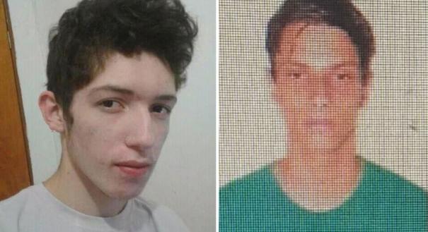Guilherme Taucci Monteiro, de 17 anos e Luiz Henrique de Castro, de 25 anos