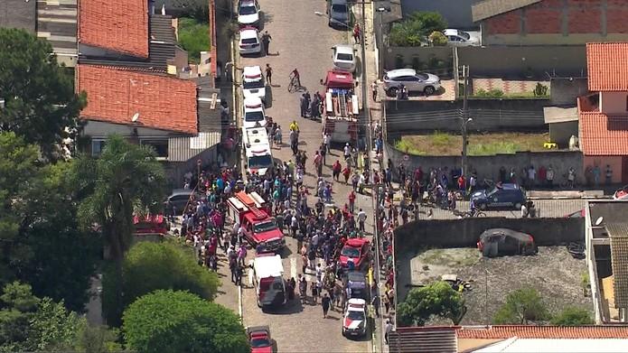 Tragedia Em Suzano Hoje Pinterest: Massacre Em Suzano: Sobreviventes Se Esconderam Na