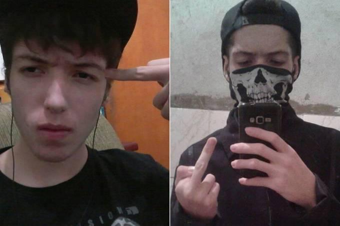 Guilherme Taucci Monteiro, 17 anos, um dos atiradores do ataque na escola estadual. Crédito: Reprodução