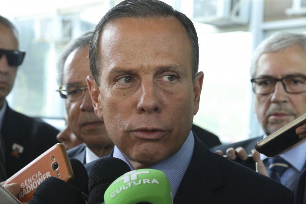 O governador de São Paulo, João Doria. Crédito: Agência Brasil | Arquivo