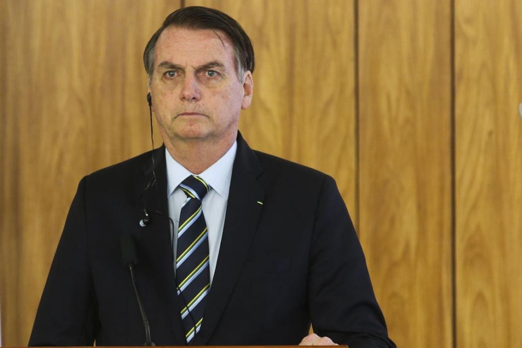 Presidente Jair Bolsonaro . Crédito: Antonio Cruz/Agência Brasil