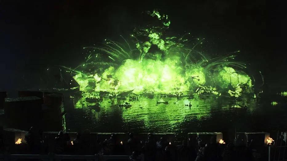 15/03/2019 - A Batalha de Água Negra, na segunda temporada de 'Game of Thrones'. Crédito: Divulgação/HBO