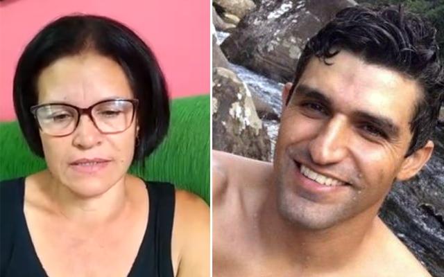 Mãe de Jonas pede ajuda para localizar o filho; Jonas do Amaral está foragido desde o dia do crime, 4 de março