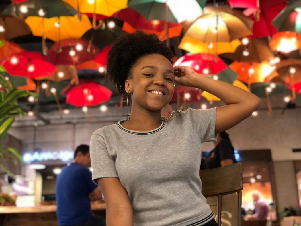 19/03/2019 - Aisha Carolina, ex-participante do Masterchef Júnior. Crédito: Instagram/@aisha_masterchef_jr