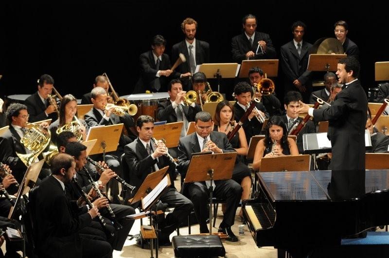 Orquestra Sinfônica da Fames (Osfa). Crédito: Secult ES/Reprodução