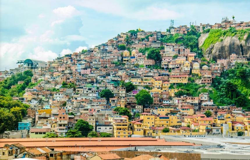 Morro da Providência, no Rio de Janeiro. Crédito: Reprodução | Google Street View