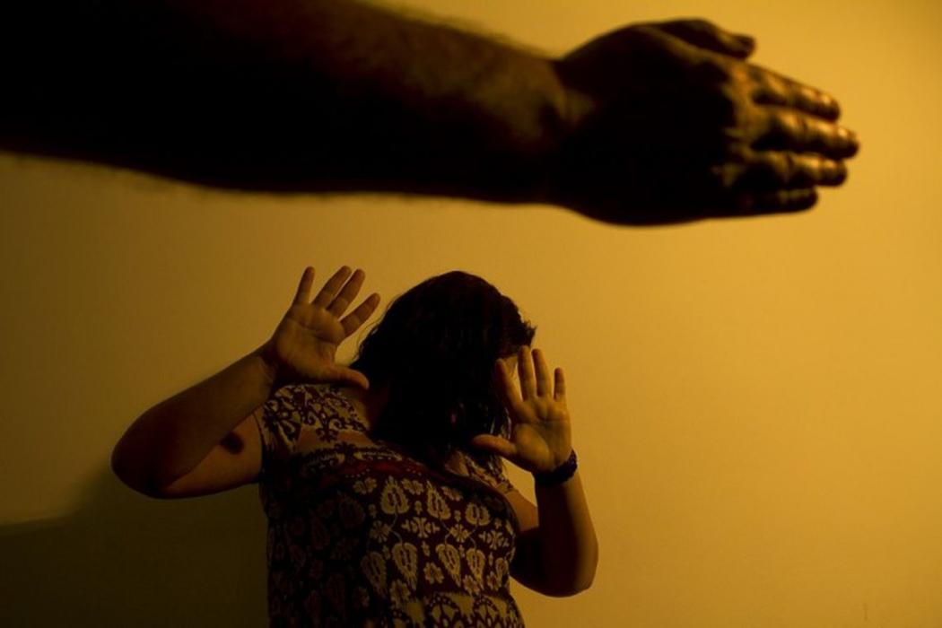 Violência contra mulher. Crédito: Marcos Santos/USP