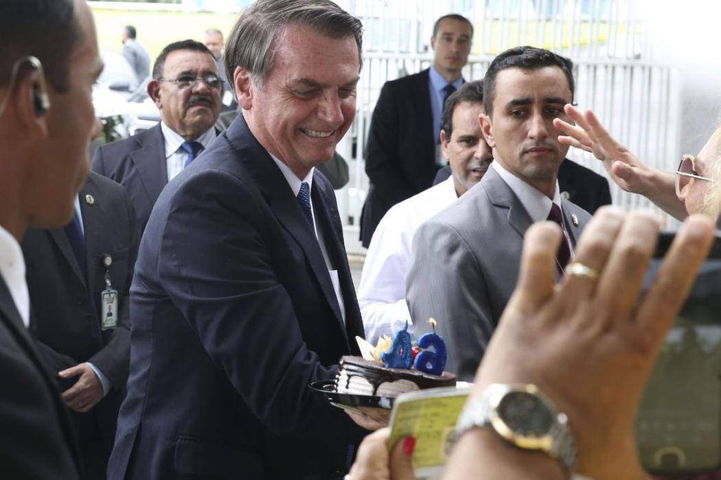 O presidente Jair Bolsonaro. Crédito: Antonio Cruz/Agência Brasil