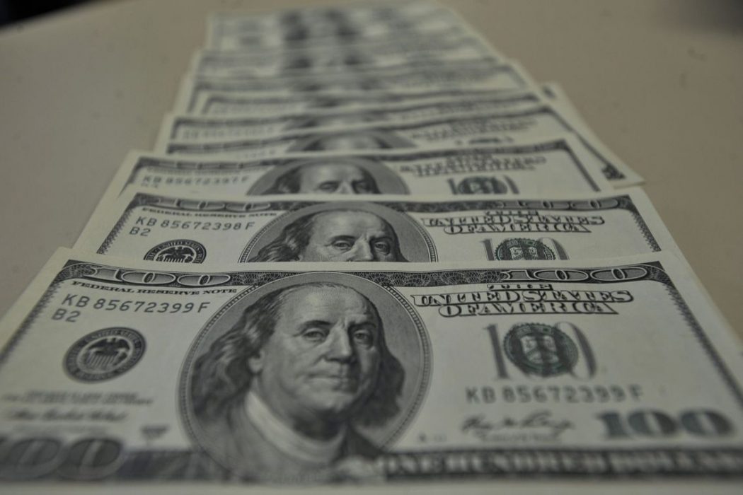 O Dólar fechou em queda nesta segunda-feira (08). Crédito: Marcello Casal Jr./Agência Brasi