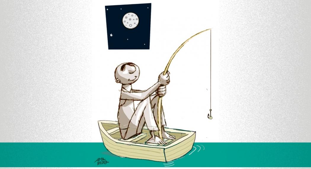 Março da Lua e dos pescadores. Crédito: Amarildo