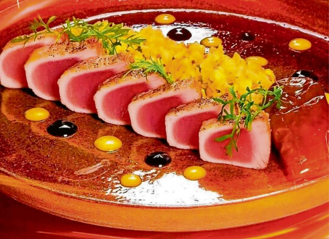 Atum agridoce do chef Harum Katharian. Crédito: Dilvulgação