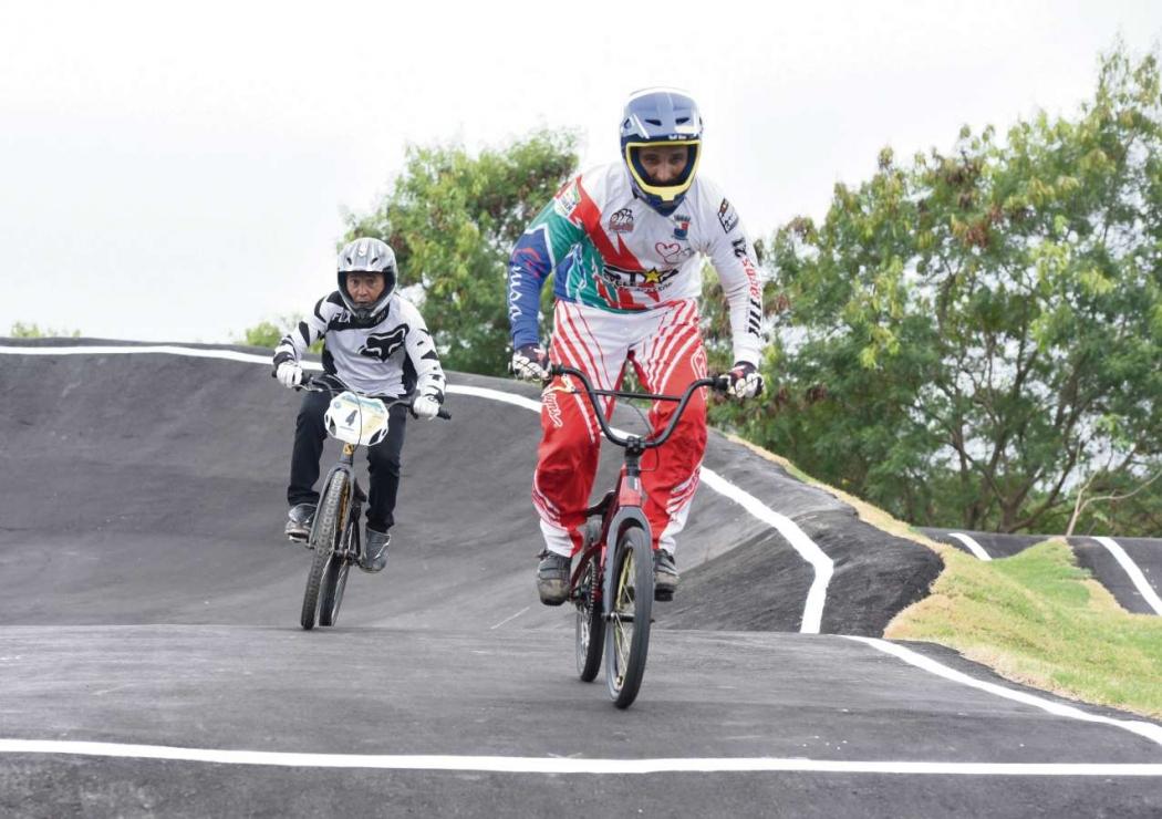 A pista de ciclismo BMX, na Serra, vai fomentar a prática da modalidade no Espírito Santo. Crédito: Carlos Alberto Silva