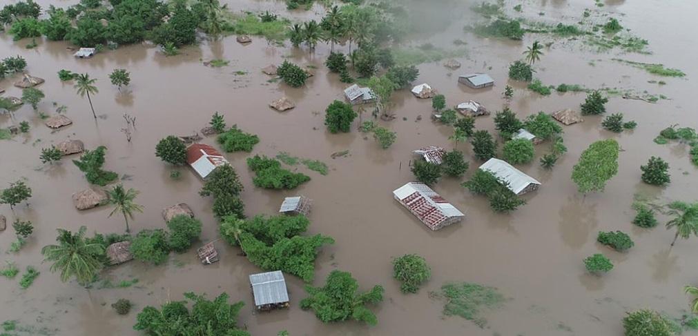 Estragos de ciclone em Moçambique . Crédito: Reprodução/Onu News