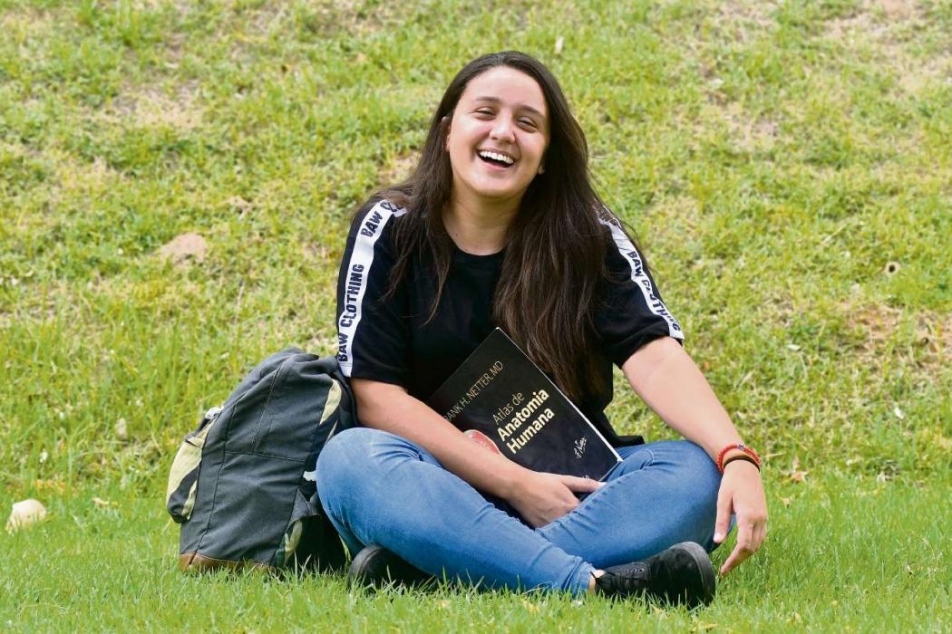 Com seu bom desempenho no Enem, Daniela conseguiu a vaga que tanto queria em Medicina, na Ufes. Crédito:                Bernardo Coutinho