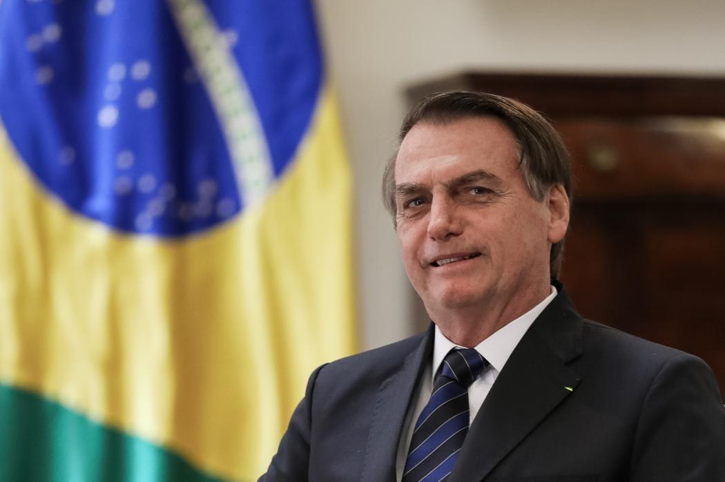 O presidente Jair Bolsonaro. Crédito: Marcos Corrêa/PR