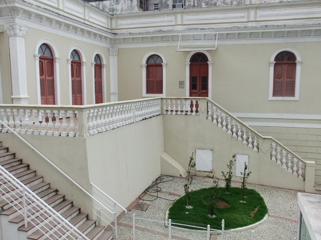 Casa Porto das Artes Plásticas, no Centro de Vitória, é um dos espaços que estão no edital. Crédito: Museus BR/Reprodução