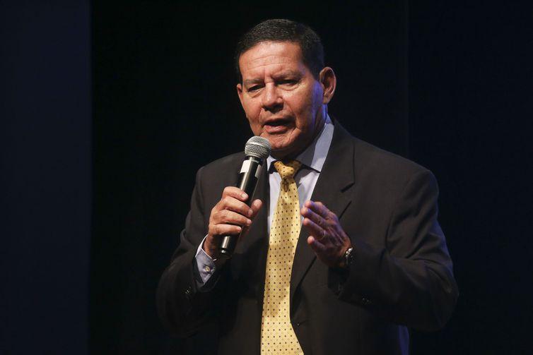 O vice-presidente da República, Hamilton Mourão. Crédito: Antonio Cruz/Agência Brasil | Arquivo