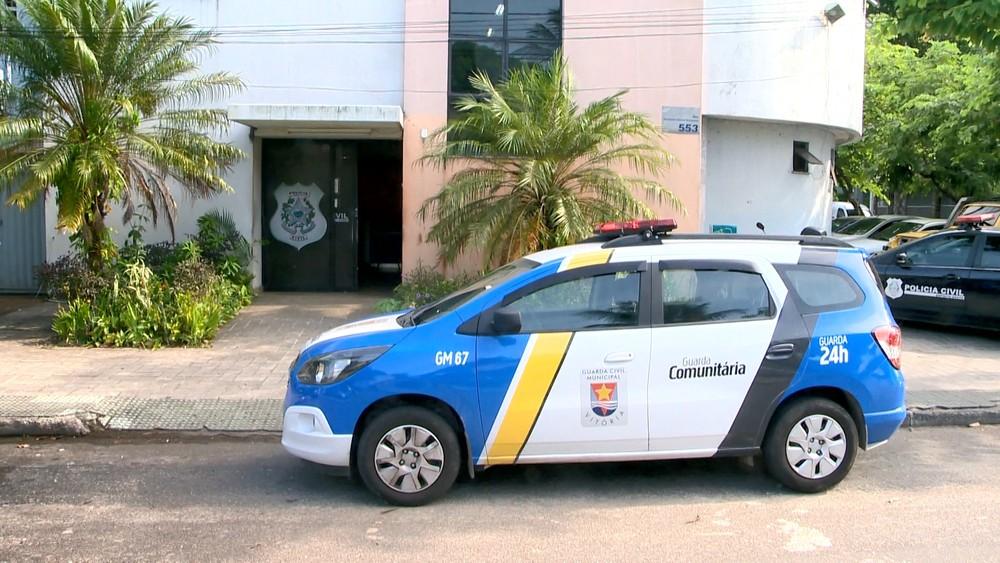 Ocorrência foi registrada na Delegacia Regional de Vitória. Crédito: Reprodução/TV Gazeta