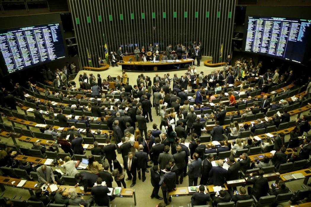 Plenário da Câmara dos Deputados. Crédito: Wilson Dias/Agência Brasil