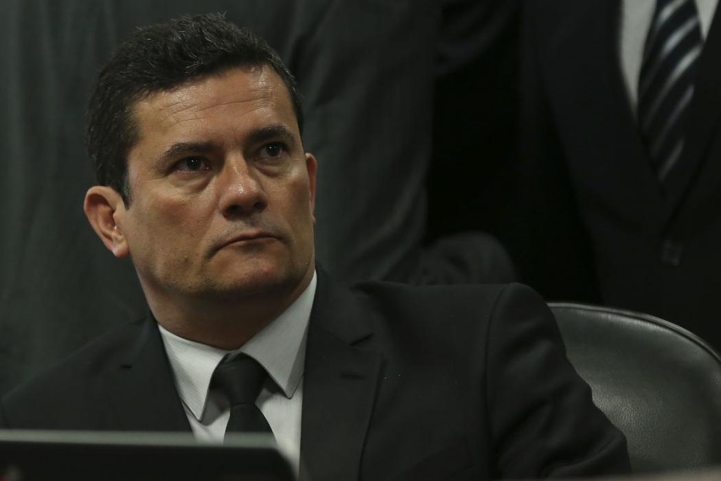 O ministro da Justiça e Segurança Pública, Sérgio Moro. Crédito: José Cruz/Agência Brasil