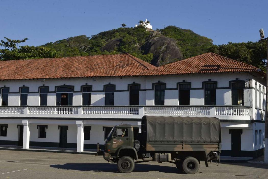 38º Batalhão de Infantaria está localizado na Prainha, em Vila Velha. Crédito: Edson Chagas