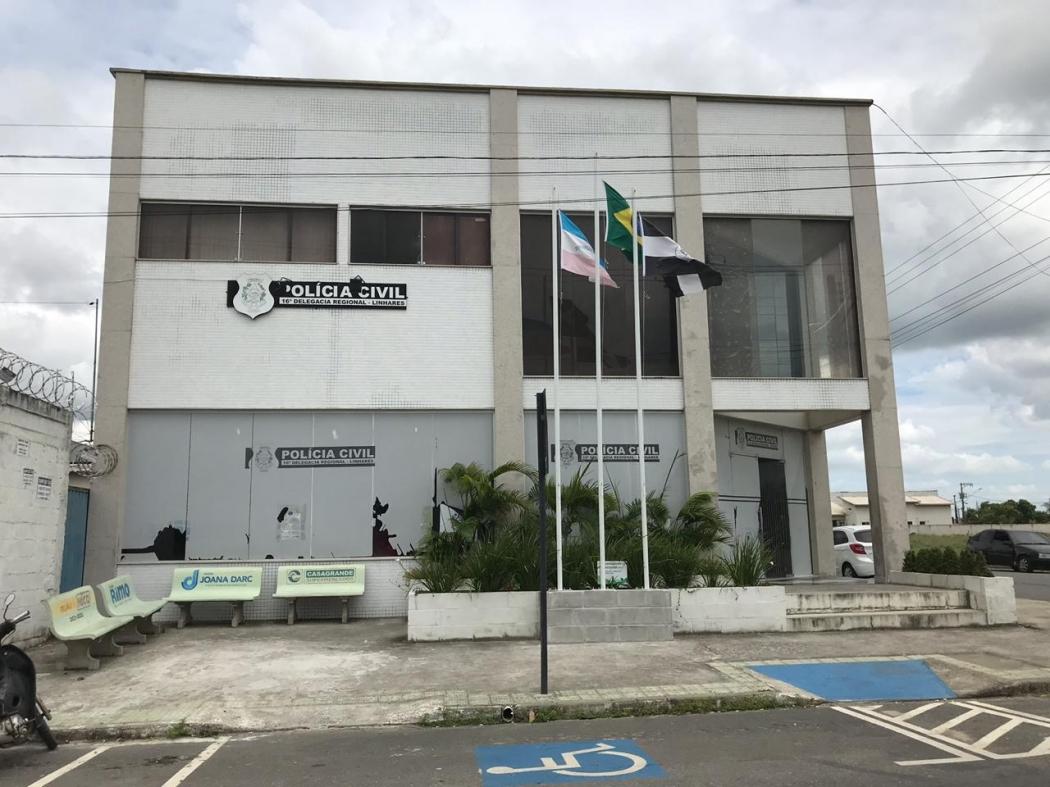 16ª Delegacia Regional de Linhares. Crédito: Loreta Fagionato