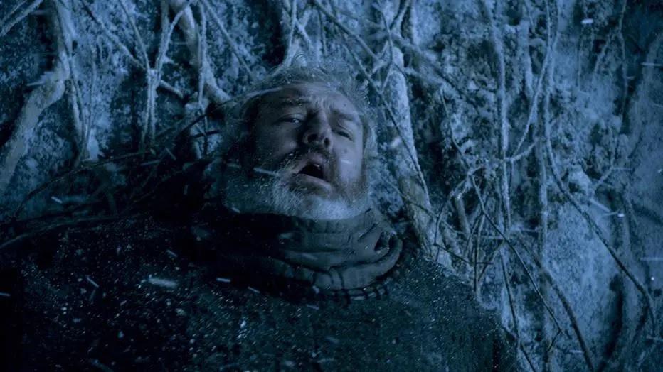 Game of Thrones: Hodor salva Bran do ataque das criaturas. Crédito: HBO