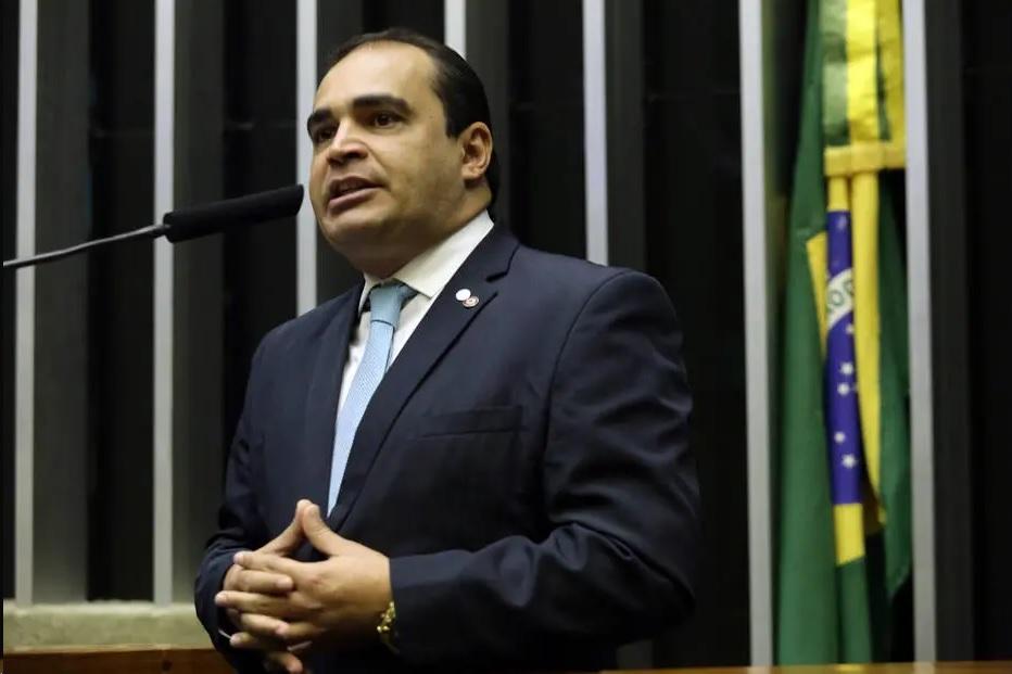 O deputado federal Delegado Marcelo Freitas (PSL-MG) foi escolhido como relator da reforma da Previdência na Câmara. Crédito: Bruno Peres/Lid. PSL